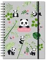 Caderno Colegial 96 Fls Panda- Fina Ideia 7410