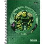 Caderno Colegial Avengers Heroes 1 Materia 80f Tilibra