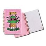 Caderno com Capa Revestida de Pelúcia Cacto - Clio