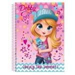 Caderno de Anotacões 80 Folhas Debby São Domingos