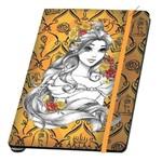 Caderno de Anotações C/ Pauta Princesas Bela 10070552 Z-Criativa