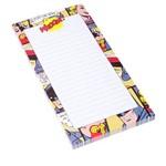 Caderno de Anotações com Imã Batman Quadrinhos DC Comics Colorido