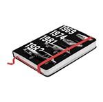 Caderno de Anotações Preto 100 Folhas A5 Opala Urban