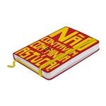 Caderno de Anotações Vermelho 100 Folhas A6 Chapolin Urban