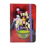 Caderno de Anotações Vilões da Disney