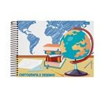 Caderno de Cartografia 96 Fls Pct C/5 Uni 30.8918-4 Foroni Atacado
