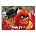 Caderno de Cartografia Angry Birds 96 Folhas Jandaia 1025838