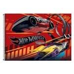 Caderno de Cartografia e Desenho Hotwheels - Vermelho - Tilibra