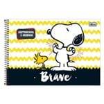 Caderno de Cartografia e Desenho - Snoopy Brave - 96 Folhas - Tilibra
