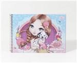 Caderno de Desenho Jolie