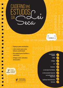 Caderno de Estudos da Lei Seca (2019)