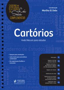 Caderno de Estudos da Lei Seca Complementar - Cartórios (2019)