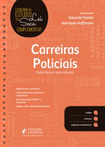 Caderno de Estudos de Lei Seca Complementar - Carreiras Policiais (2019)