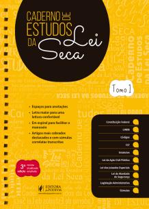 Caderno de Estudos de Lei Seca - em Dois Tomos (2019.2)