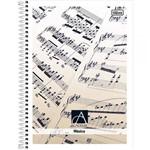 Caderno de Música 96 Fls. Universitário Fontes Mistas
