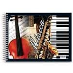 Caderno de Música SD Pequeno 40 Folhas
