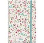 Caderno de Notas Pão Diário Floral Verde