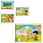 Caderno Desenho Brochura Criancas ¼ 40 Folhas