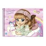 Caderno Desenho Cartografia Foroni Judy 96 Folhas