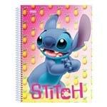 Caderno Disney Stitch - Abacaxis - 80 Folhas - São Domingos