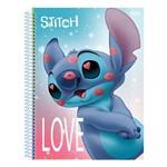 Caderno Disney Stitch - Beijinhos - 80 Folhas - São Domingos