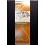 Caderno Especial Hahnemuhle D&s 140g A4 160 Fls Preto 10 628 272