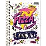 Caderno Espiral 1/4 Capa Dura Capricho 80fls. Tilibra