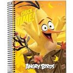 Caderno Espiral 96 Folhas Angry Birds Filme Jandaia
