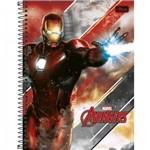 Caderno Espiral C D 1 Matéria 96 Fls Avengers Assemble Pct C/04