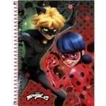 Caderno Espiral Capa Dura 1/4 Miraculous: Ladybug 96 Folhas - Sortido (Pacote com 5 Unidades) 156906