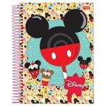 Caderno Espiral Capa Dura 10 Matérias Disney Sweetie 04