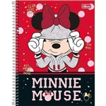Caderno Espiral Capa Dura 10 Matérias Minnie Mouse 01