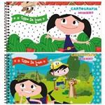 Caderno Espiral Capa Dura Cartografia e Desenho 96 Folhas Show da Luna Jandaia