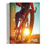 Caderno Espiral Capa Dura Universitário 20 Matérias 400 Folhas Sport Bike Jandaia