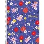 Caderno Espiral Capa Dura Universitário 20 Matérias Charme 320 Folhas - Sortido