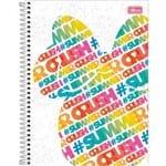 Caderno Espiral Capa Dura Universitário 1 Matéria Minnie Fashion 80 Folhas - Sortido (Pacote com 4 Unidades)