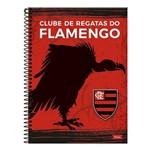 Caderno Espiral Flamengo 96 Folhas -Foroni