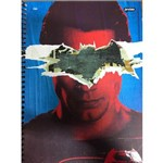CADERNO ESPIRAL JANDAIA CD UNIV. BATMAN X SUPERMAN 1M 96F Mod 03