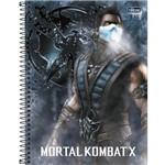 Caderno Espiral Mortal Kombat 10x1 - 160 Folhas - Tilibra