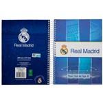 Caderno Espiral Real Madrid 96 Folhas - Foroni
