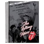 Caderno Espiral Univ Cd 1x1 96 Folhas Rolling Stone Jandaia