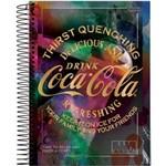 Caderno Espiral Univ Cd 1x1 96fls Coca Cola Jandaia