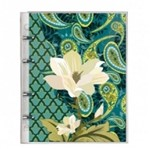 Caderno Fichario 10x1 190f Botan Verde Esc Pvc 3863-2 Otima S/L