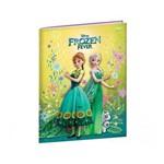 Caderno Frozen Fever com Capa Dura Brochura 1/4 Pequeno - 96 Fls. - Jandaia