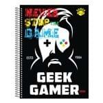 Caderno Game - Geek Gamer - 10 Matérias - São Domingos
