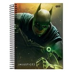 Caderno Injustice 2 - Batman - 10 Matérias - Jandaia