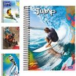Caderno Jump Universitario Unisex 10x1 200 Folhas