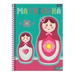 Caderno Kolor - Matrioska - 1 Matéria - Foroni