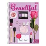 Caderno Like It - Beautiful - 1 Matéria - Foroni