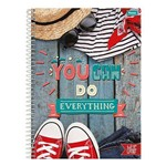 Caderno Like It - You Can do Everything - 10 Matérias - Foroni